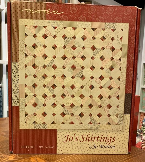 "Ritagli d'Arte - Kit Scatola ""Jo's Shirting"" by Jo Morton – Moda Fabrics"