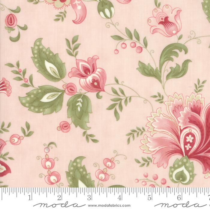 Ritagli d'Arte – Tessuti – Collezione Porcelain by 3 Sisters – Moda Fabrics – 44190-15