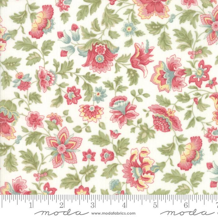 Ritagli d'Arte – Tessuti – Collezione Porcelain by 3 Sisters – Moda Fabrics – 44191-11