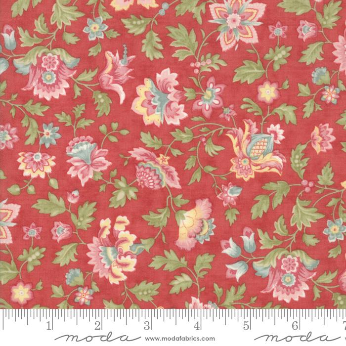Ritagli d'Arte – Tessuti – Collezione Porcelain by 3 Sisters – Moda Fabrics – 44191-16