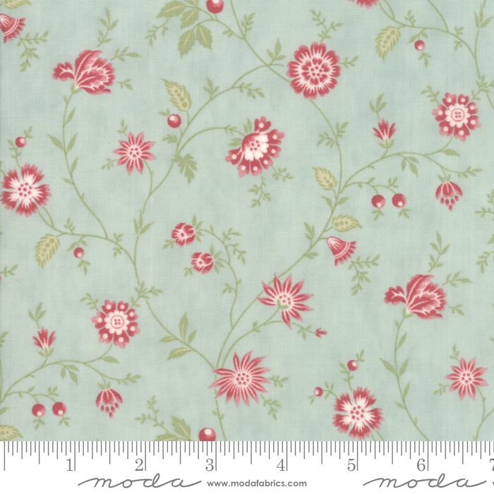 Ritagli d'Arte – Tessuti – Collezione Porcelain by 3 Sisters – Moda Fabrics – 44193-14