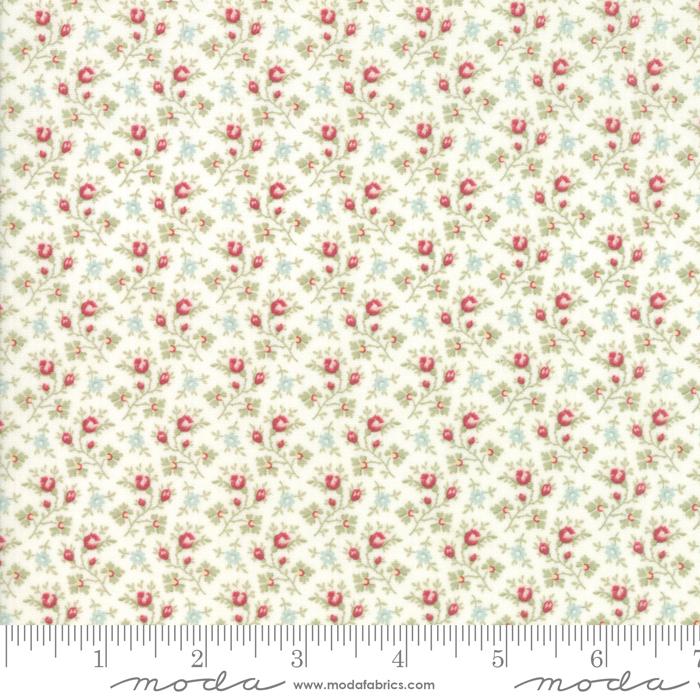 Ritagli d'Arte – Tessuti – Collezione Porcelain by 3 Sisters – Moda Fabrics – 44195-11