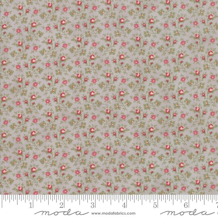 Ritagli d'Arte – Tessuti – Collezione Porcelain by 3 Sisters – Moda Fabrics – 44195-13