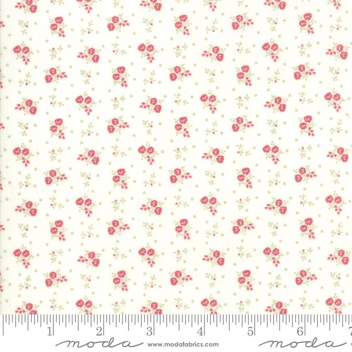 Ritagli d'Arte – Tessuti – Collezione Porcelain by 3 Sisters – Moda Fabrics – 44197-11