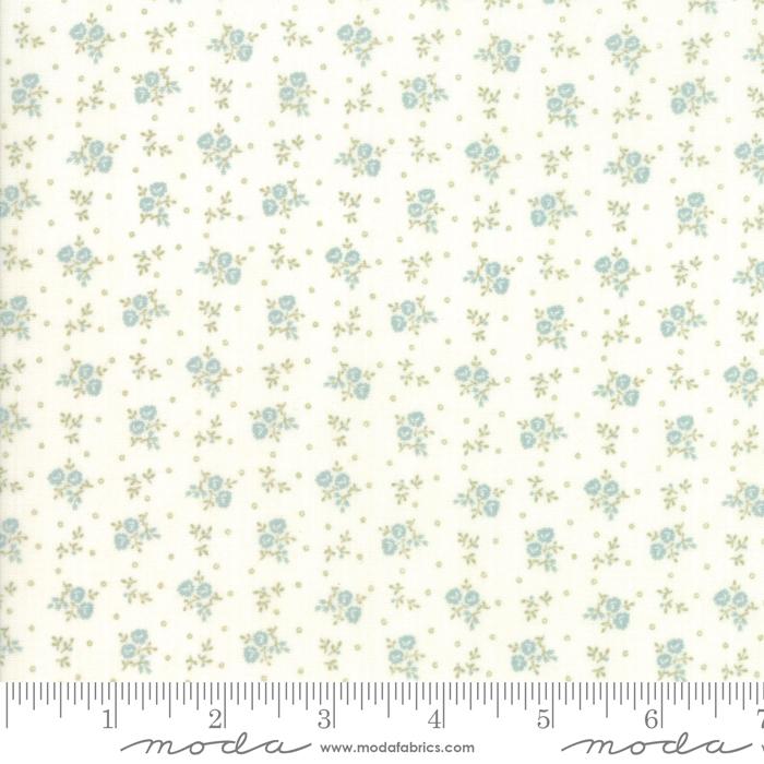 Ritagli d'Arte – Tessuti – Collezione Porcelain by 3 Sisters – Moda Fabrics – 44197-22
