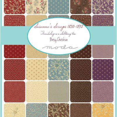 Collezione Susanna's Scraps by Betsy Chutchian - Moda Fabrics
