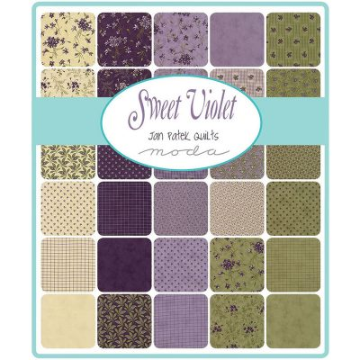 Collezione Sweet Violet by Jan Patek - Moda Fabrics