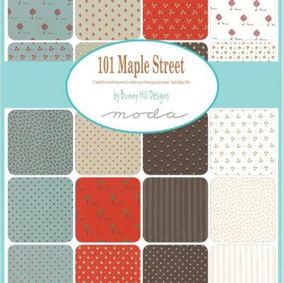 101 Maple Street by Bunny Hill Designs- Moda Fabrics