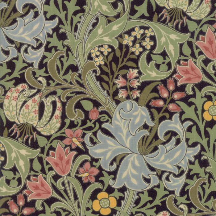 Morris Garden from the V&A archives – Moda Fabrics 7330-13