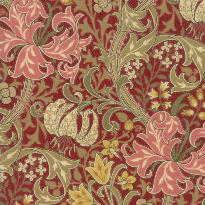 Morris Garden from the V&A archives – Moda Fabrics 7330-14