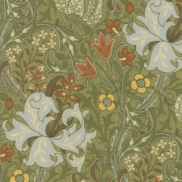 Morris Garden from the V&A archives - Moda Fabrics 7330-16