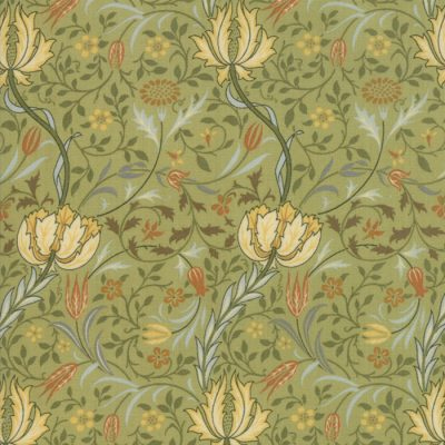 Morris Garden from the V&A archives - Moda Fabrics 7331-15