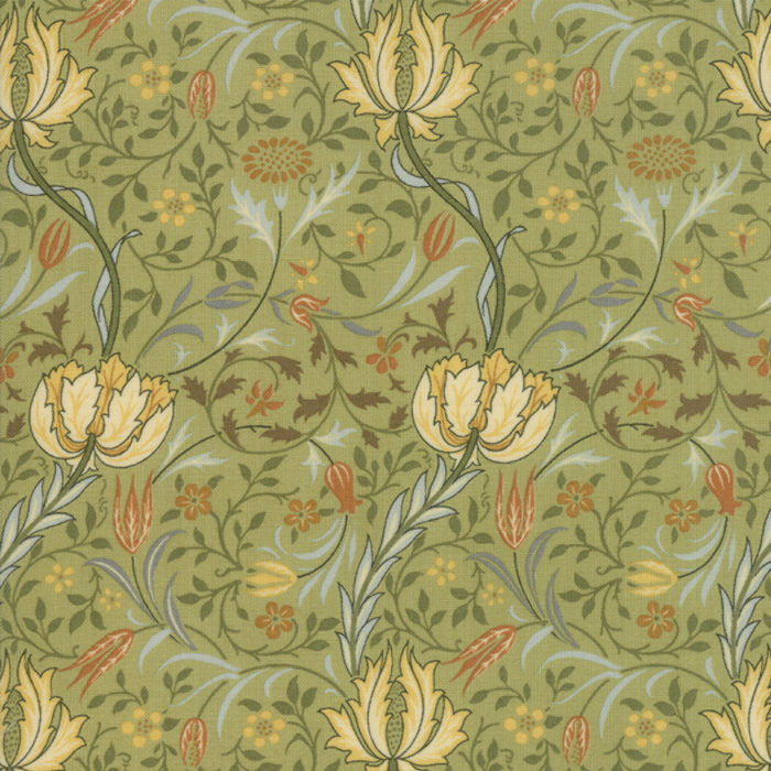 Morris Garden from the V&A archives – Moda Fabrics 7331-15