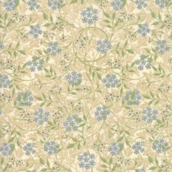 Morris Garden from the V&A archives - Moda Fabrics 7332-11