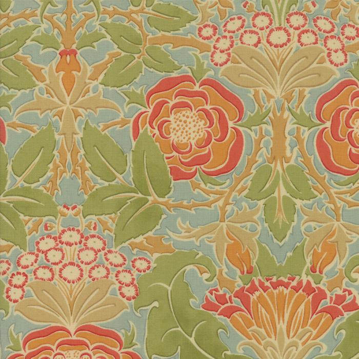 Voysey from the V&A archives – Moda Fabrics 7320-14