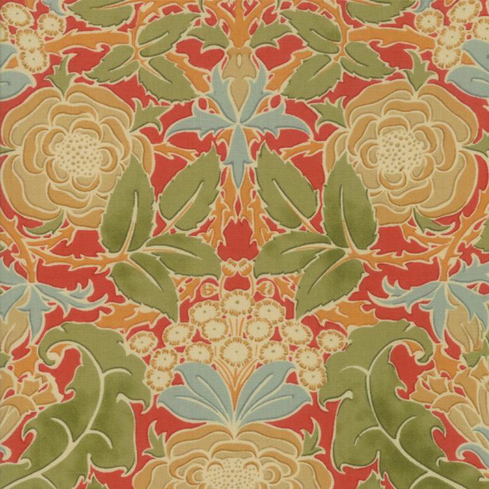 Voysey from the V&A archives – Moda Fabrics 7320-15