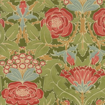 Voysey from the V&A archives - Moda Fabrics 7320-19