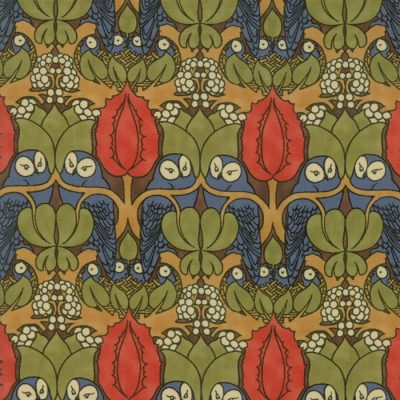 Voysey from the V&A archives - Moda Fabrics 7321-12