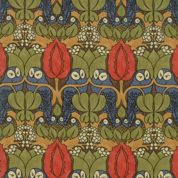 Voysey from the V&A archives - Moda Fabrics 7321-12