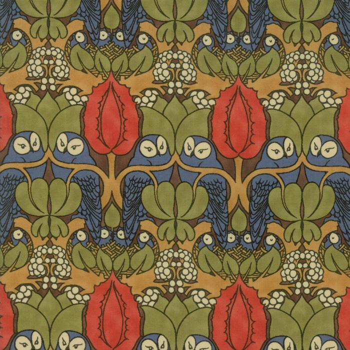 Voysey from the V&A archives – Moda Fabrics 7321-12