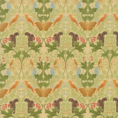 Voysey from the V&A archives - Moda Fabrics 7322-11
