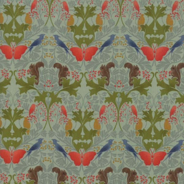 Voysey from the V&A archives - Moda Fabrics 7322-14