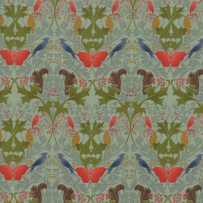 Voysey from the V&A archives – Moda Fabrics 7322-14