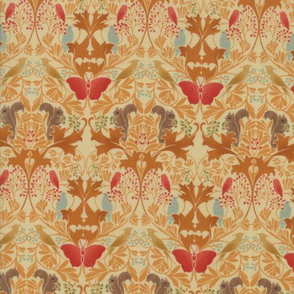 Voysey from the V&A archives - Moda Fabrics 7322-16