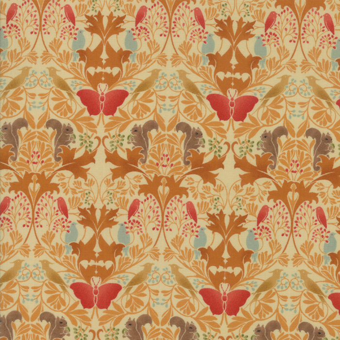 Voysey from the V&A archives – Moda Fabrics 7322-16