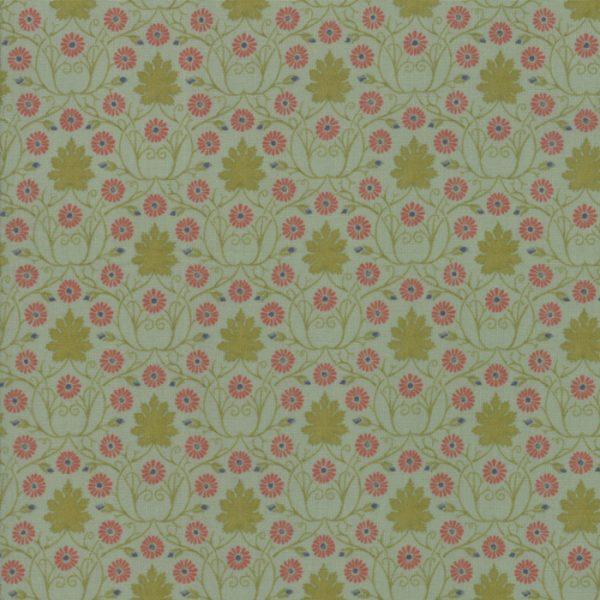 Voysey from the V&A archives - Moda Fabrics 7323-14