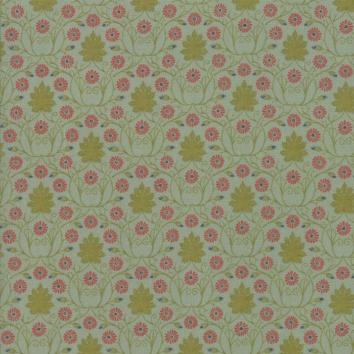 Voysey from the V&A archives – Moda Fabrics 7323-14