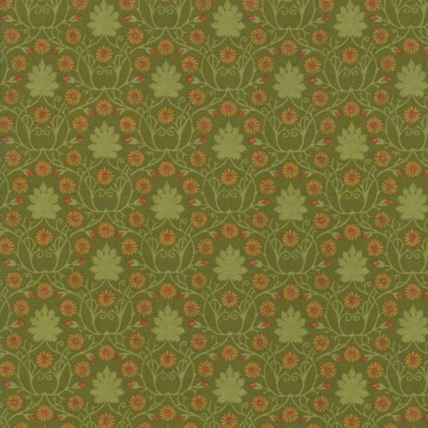 Voysey from the V&A archives - Moda Fabrics 7323-17