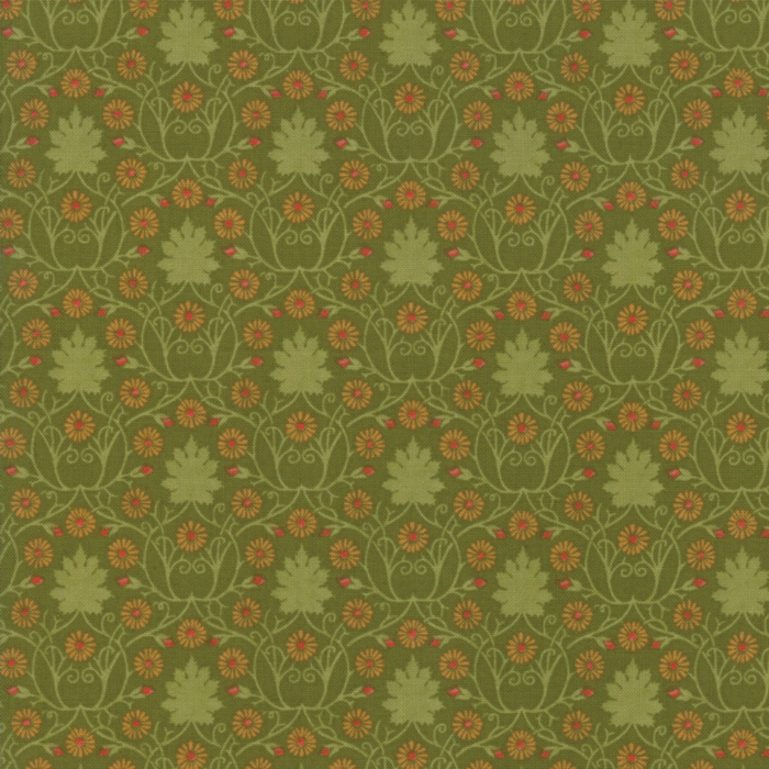 Voysey from the V&A archives – Moda Fabrics 7323-17