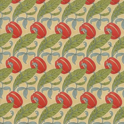 Voysey from the V&A archives - Moda Fabrics 7324-11