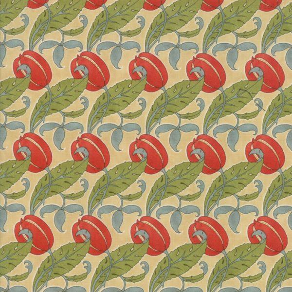Voysey from the V&A archives - Moda Fabrics 7324-11