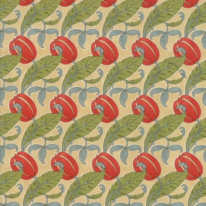 Voysey from the V&A archives – Moda Fabrics 7324-11
