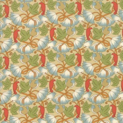 Voysey from the V&A archives - Moda Fabrics 7325-11