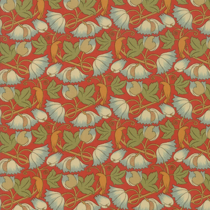 Voysey from the V&A archives – Moda Fabrics 7325-15