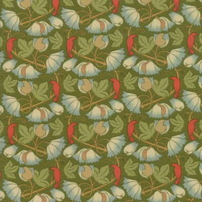 Voysey from the V&A archives - Moda Fabrics 7325-18