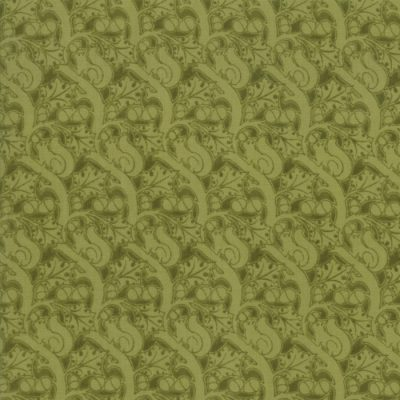 Voysey from the V&A archives - Moda Fabrics 7326-19