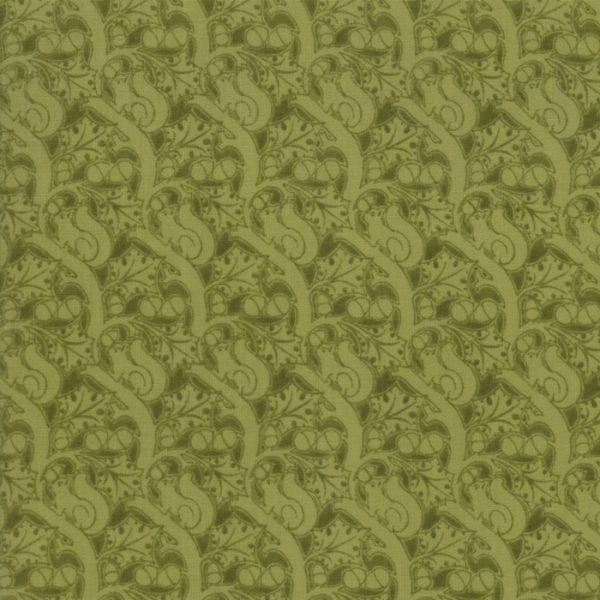 Voysey from the V&A archives - Moda Fabrics 7326-19