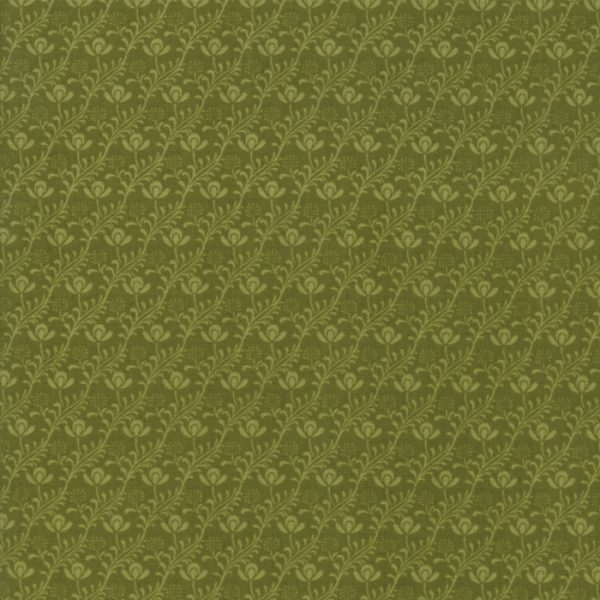 Voysey from the V&A archives - Moda Fabrics 7327-19