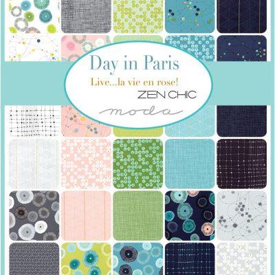 Collezione Day In Paris by Zen Chic - Moda Fabrics