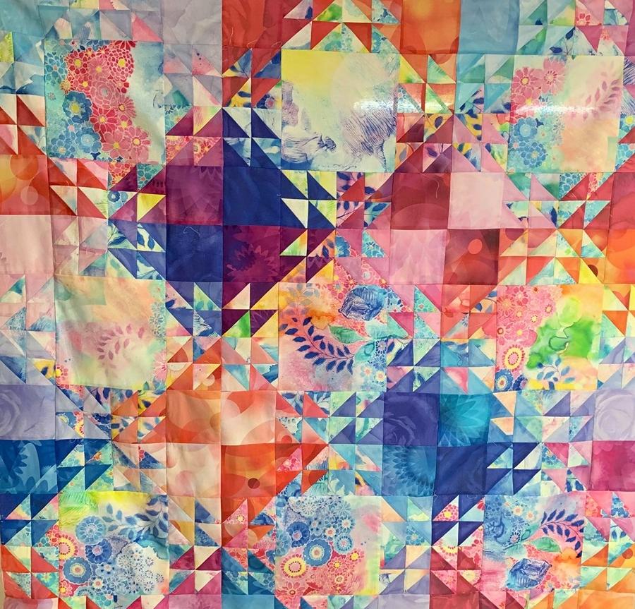 kit shimmering quilt