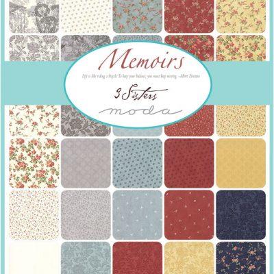 Collezione Memoirs by 3 Sisters - Moda Fabrics